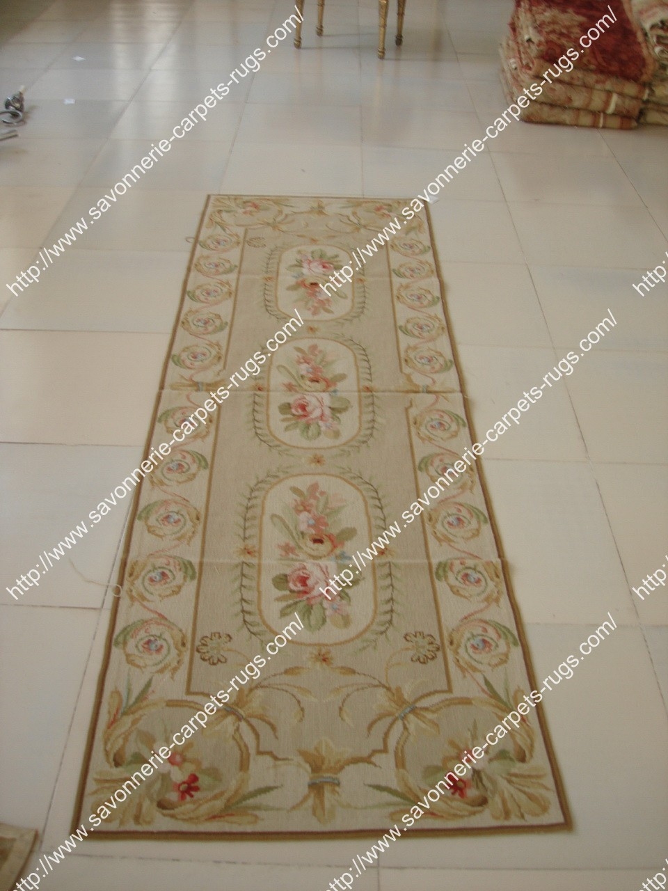Stock Needlepoint Rugs No.125 Manufacturer
