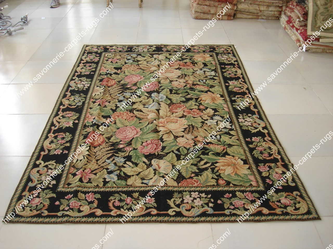 Superb Stock Needlepoint Rugs No.132 Manufacturer