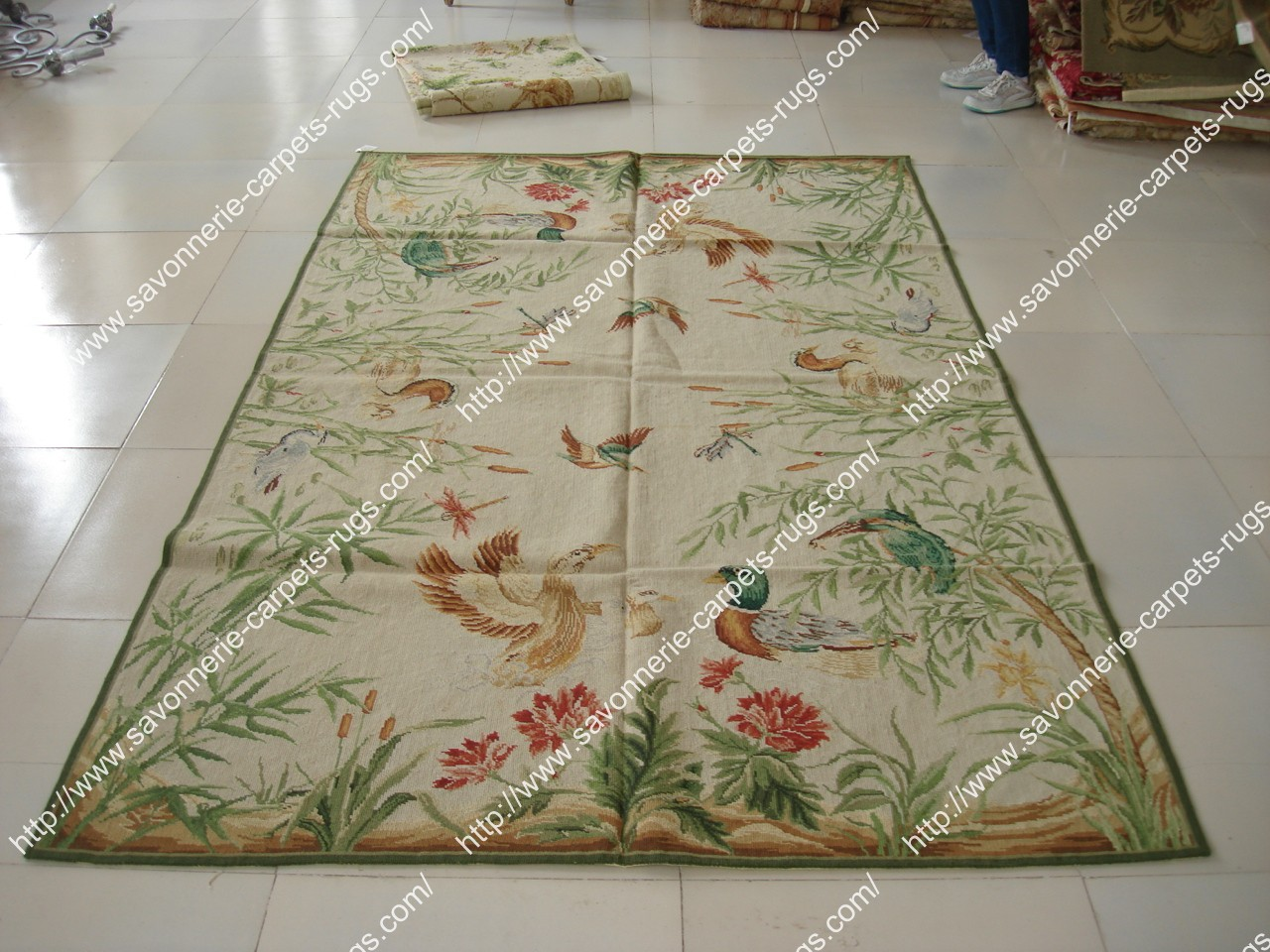 Stock Needlepoint Rugs No 2 Manufacturers