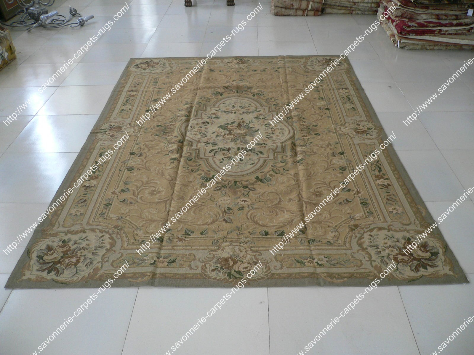 Stock Needlepoint Rugs No 34 Manufacturer