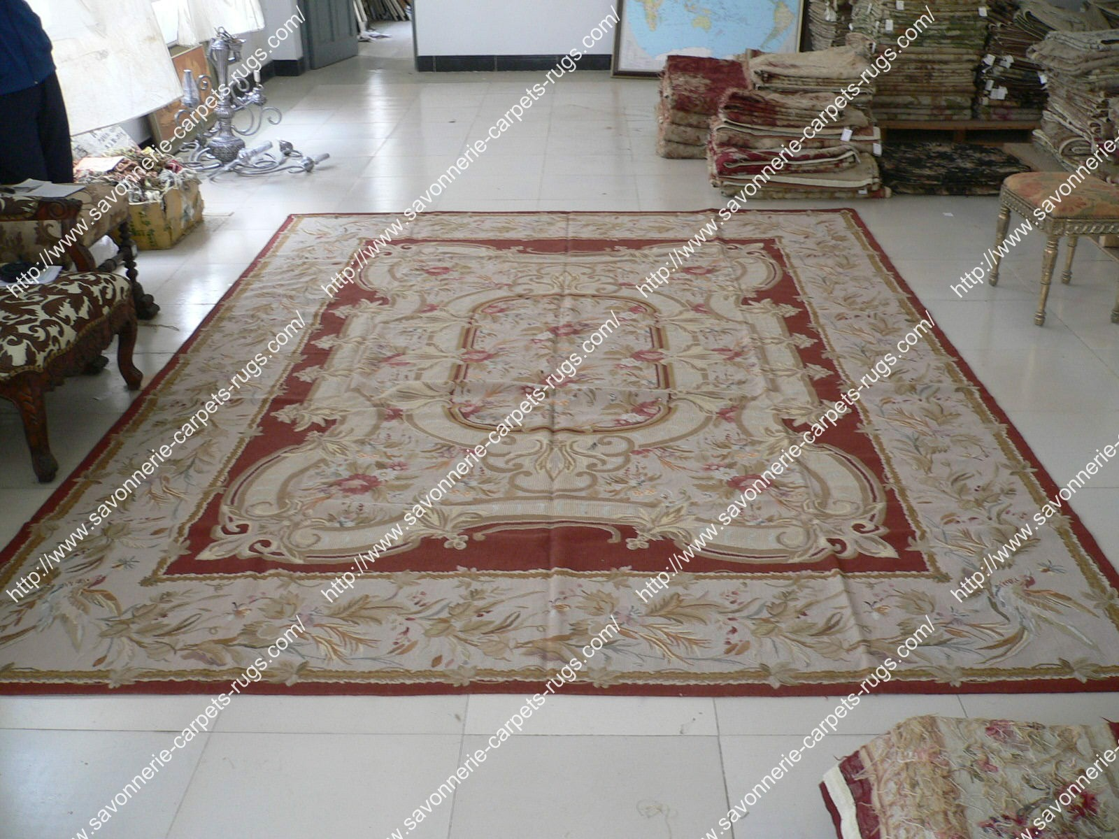 Stock Needlepoint Rugs No 87 Manufacturer