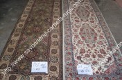 stock wool and silk tabriz persian rugs No.12 factory manufacturer