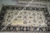 stock wool and silk tabriz persian rugs No.18 factory manufacturer