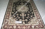 stock wool and silk tabriz persian rugs No.22 factory manufacturer