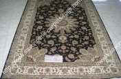 stock wool and silk tabriz persian rugs No.23 factory manufacturer