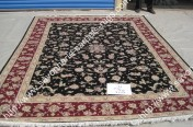 stock wool and silk tabriz persian rugs No.28 factory manufacturer