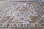 stock wool and silk tabriz persian rugs No.29 factory manufacturer