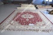 stock wool and silk tabriz persian rugs No.33 factory manufacturer