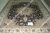 stock wool and silk tabriz persian rugs No.34 factory manufacturer