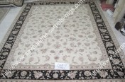 stock wool and silk tabriz persian rugs No.36 factory manufacturer