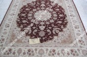 stock wool and silk tabriz persian rugs No.39 factory manufacturer