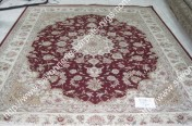 stock wool and silk tabriz persian rugs No.42 factory manufacturer