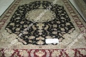 stock wool and silk tabriz persian rugs No.44 factory manufacturer