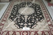 stock wool and silk tabriz persian rugs No.45 factory manufacturer