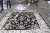 stock wool and silk tabriz persian rugs No.53 factory manufacturer