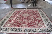 stock wool and silk tabriz persian rugs No.56 factory manufacturer