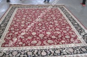 stock wool and silk tabriz persian rugs No.63 factory manufacturer