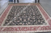 stock wool and silk tabriz persian rugs No.64 factory manufacturer