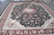 stock wool and silk tabriz persian rugs No.67 factory manufacturer