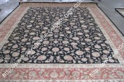stock wool and silk tabriz persian rugs No.68 factory manufacturer