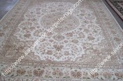 stock wool and silk tabriz persian rugs No.71 factory manufacturer