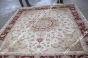 stock wool and silk tabriz persian rugs No.74 factory manufacturer