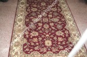 stock wool and silk tabriz persian rugs No.80 factory manufacturer