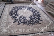 stock wool and silk tabriz persian rugs No.84 factory manufacturer