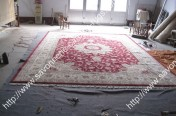 stock wool and silk tabriz persian rugs No.85 factory manufacturer