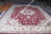 stock wool and silk tabriz persian rugs No.86 factory manufacturer