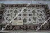 stock wool and silk tabriz persian rugs No.88 factory manufacturer