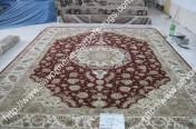 stock wool and silk tabriz persian rugs No.91 factory manufacturer