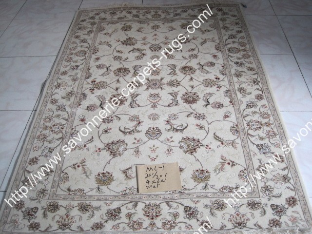 stock wool and silk tabriz persian rugs